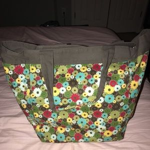 Retired Thirty-One bag Windsor Bouquet Tall bag